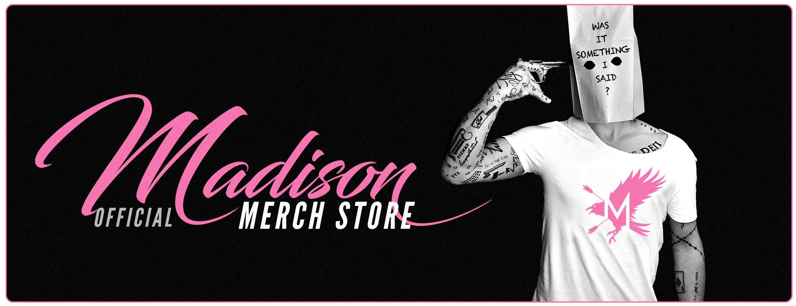 OFFICIAL DANIEL MADISON MERCH SHIOP!