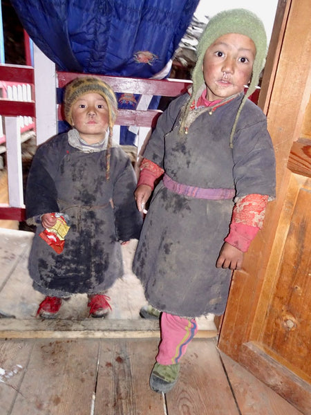 Children in Tibetan Dress