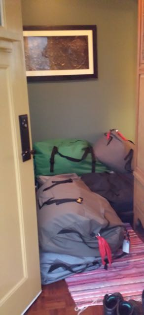 Home Full of Duffle Bags
