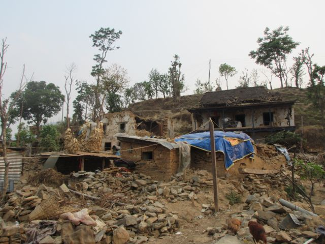 A Village Destroyed