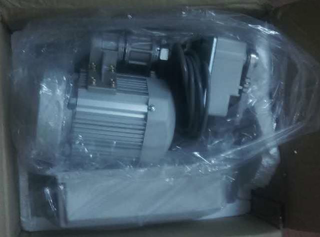 Unpacking a new motor
