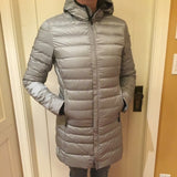 Silver Women's Long Coat (Small)