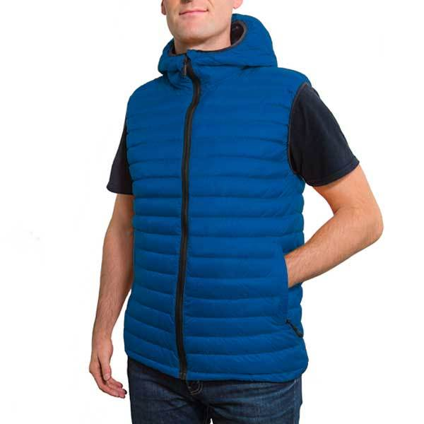 Royal Blue (Men's Vest Hoodie)