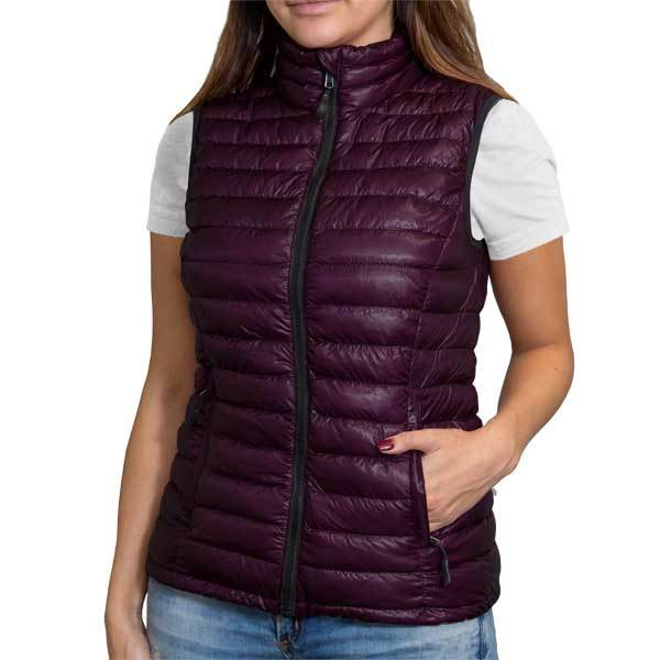 Shiny Merlot (Women's Vest)