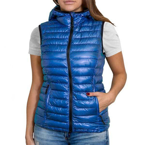 Royal Blue (Women's Vest Hoodie)