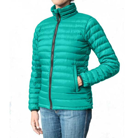 Women's Aqua Blue down jacket