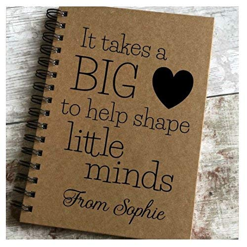 Print4you uk limited Personalised It takes a big heart to shape little minds - teacher childminder teaching assistant thank you gift