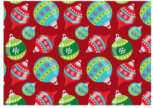 XW03 Xmas Christmas A4 icing sheet cake toppers wallpaper background cake wrap edible board cover