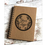 Print4you uk limited Personalised own logo custom notepad book with any name