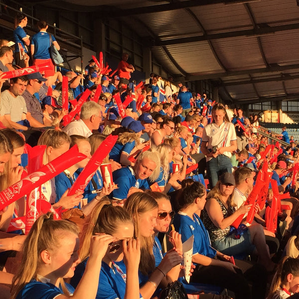 UEFA Women's Euro 2017 The Netherlands Icelandic fans