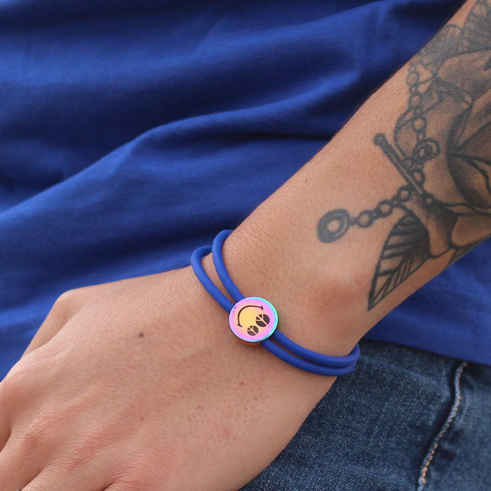 Charm Bracelet Smiley™Peace & Love