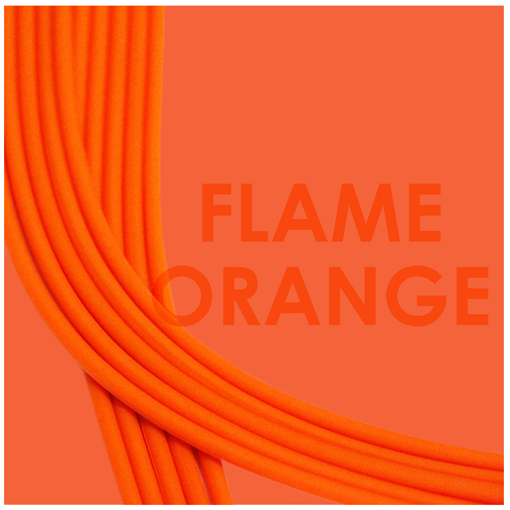 Flame Orange-Gold_Bra straps set 4 orange silicone adjustable straps & 4 gold hooks Brappz SKU#7640174311477 brappz.com