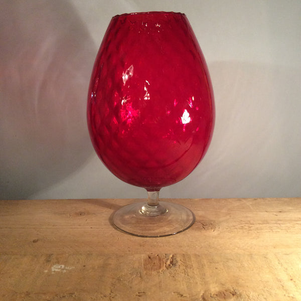 Large Red Goblet