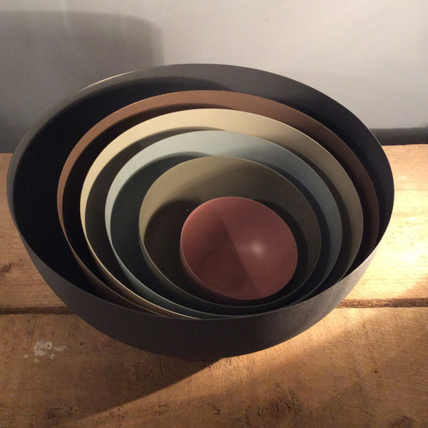 Set of 6 Colour Bowls