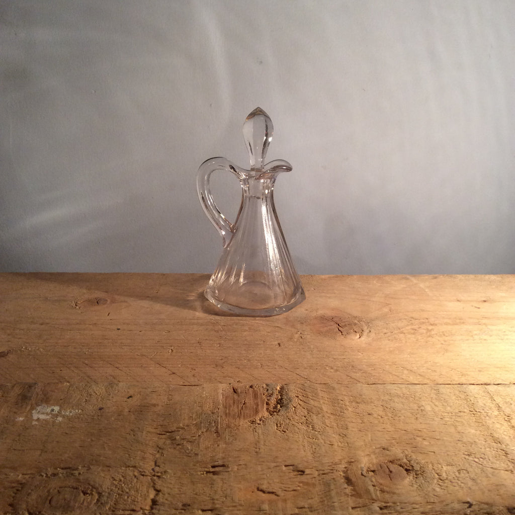 Vintage Hexagon Base Decanter
