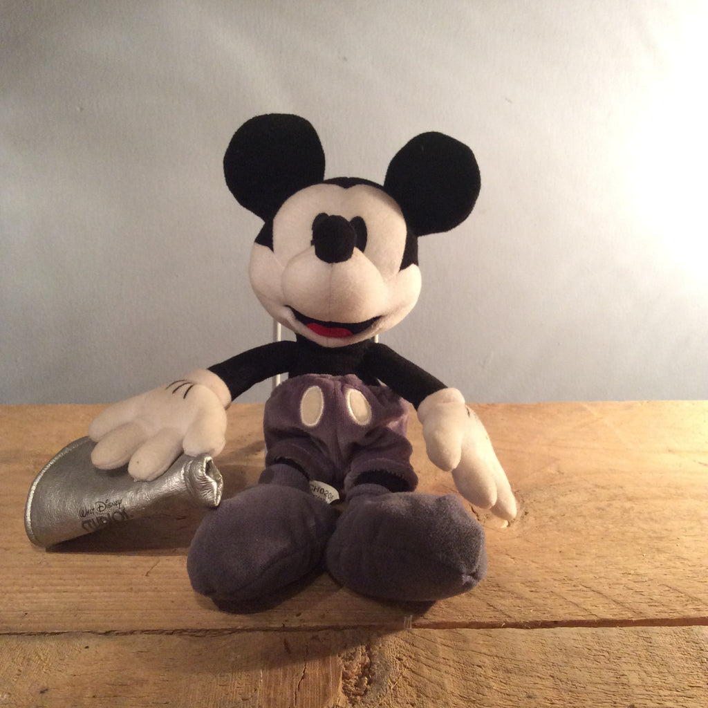 Vintage Mickey Mouse Soft Toy 01