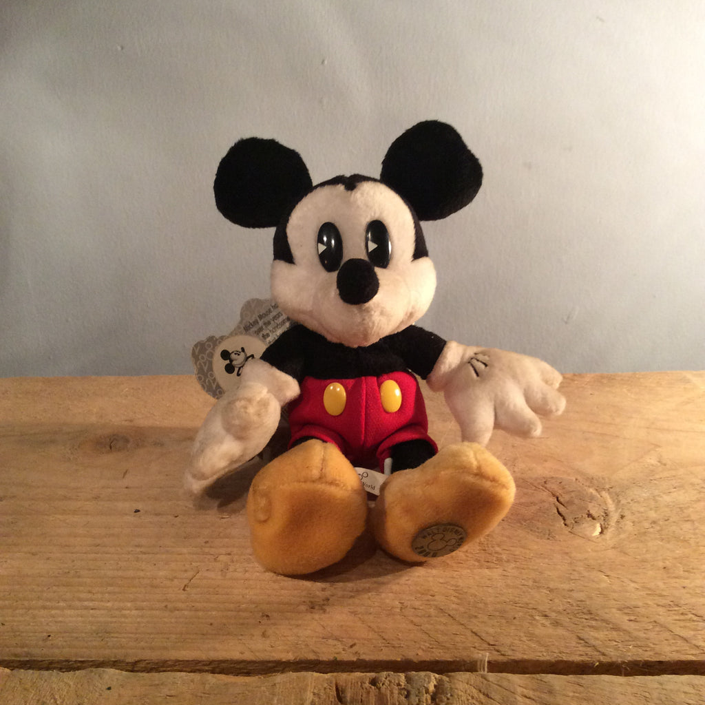 Vintage Mickey Mouse Soft Toy 02