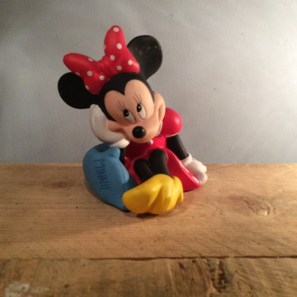 Vintage Disney Piggy Bank - Minnie Mouse