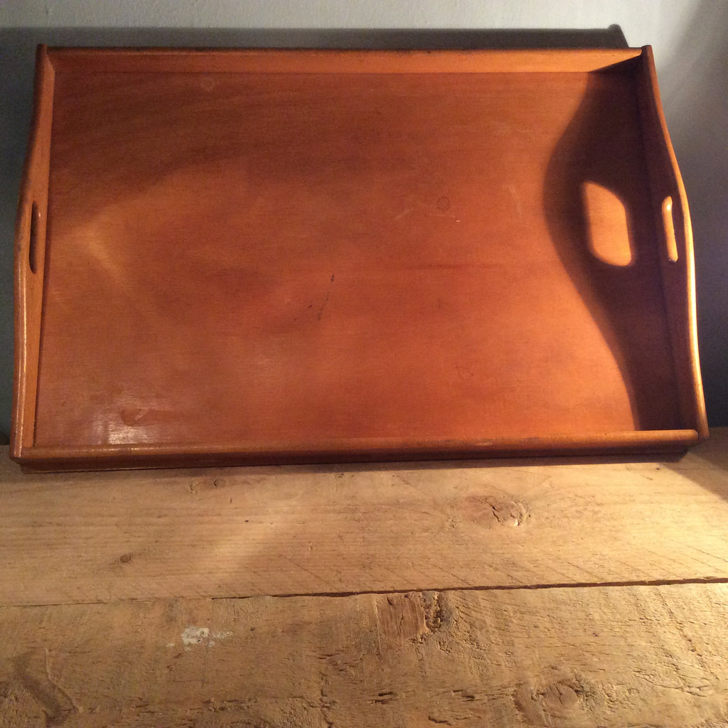 Vintage Wooden Serving Tray