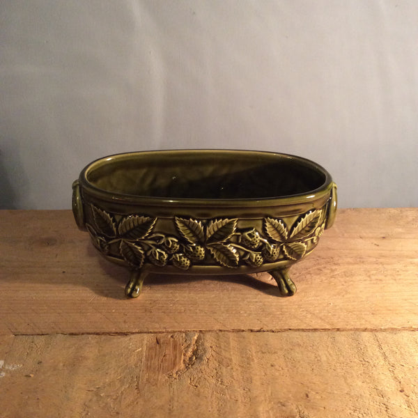 Vintage Holkham Plant Trough - Dark Green