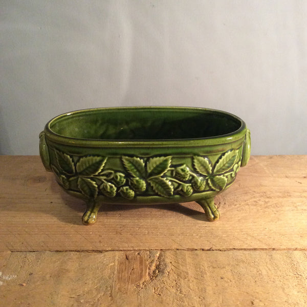 Vintage Holkham Plant Trough - Light Green