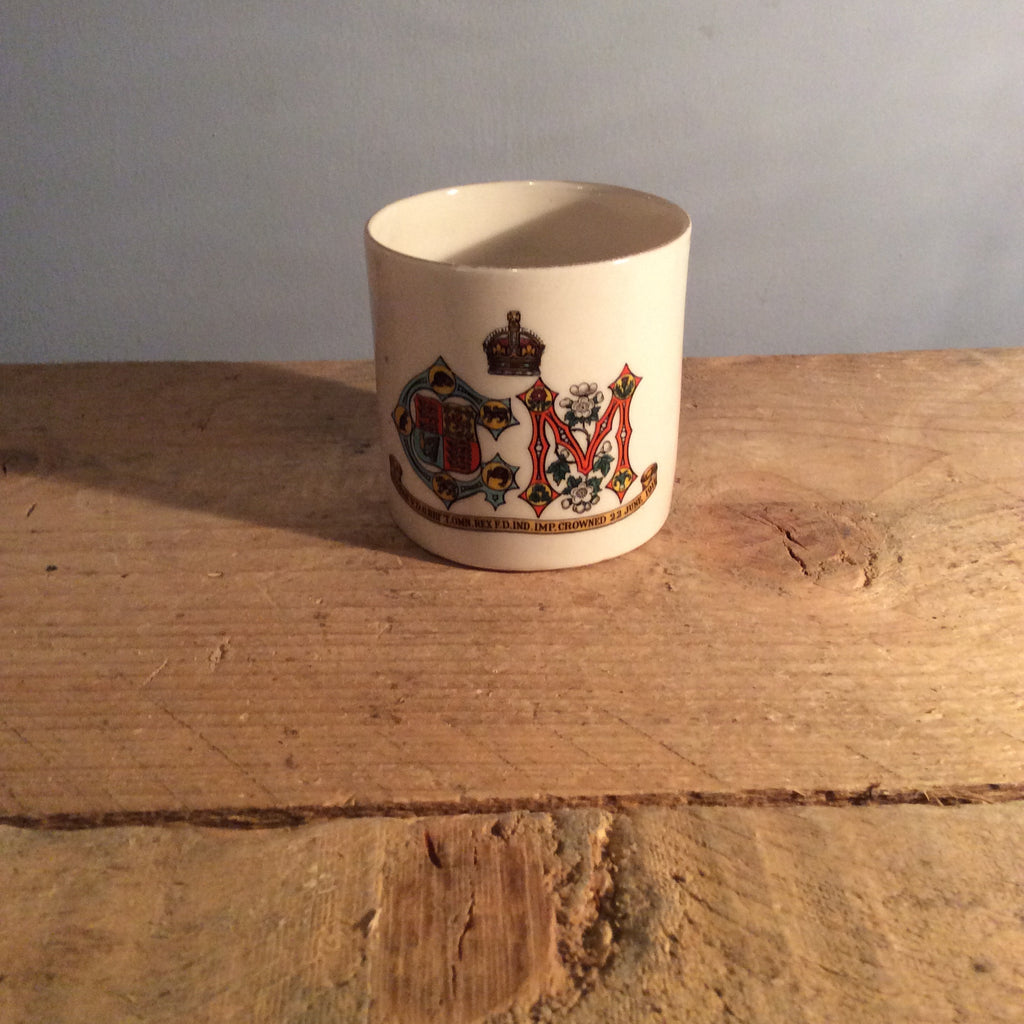 Vintage Commemorative Ceramic Cup W.H.Goss