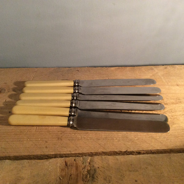 Vintage Set Of 6 Firth Knives