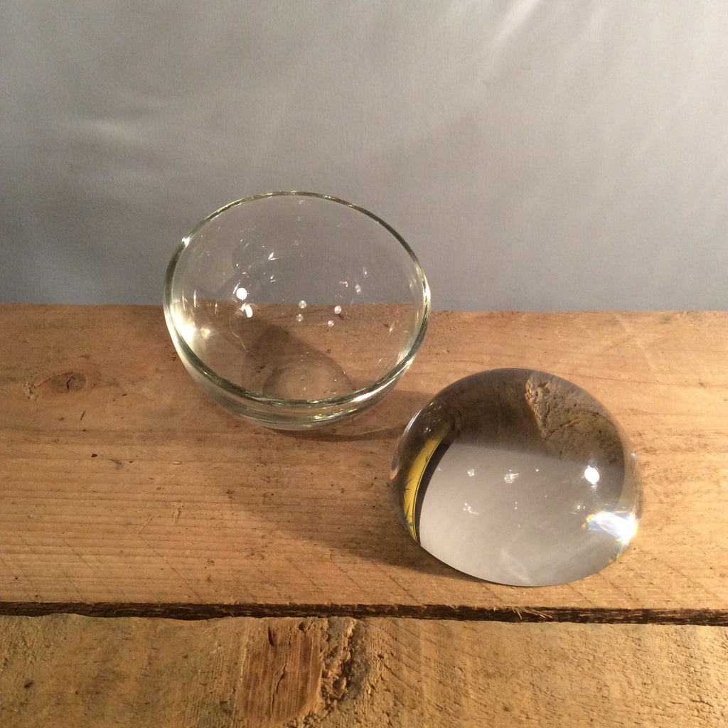 Glass Magnifying Demi Sphere