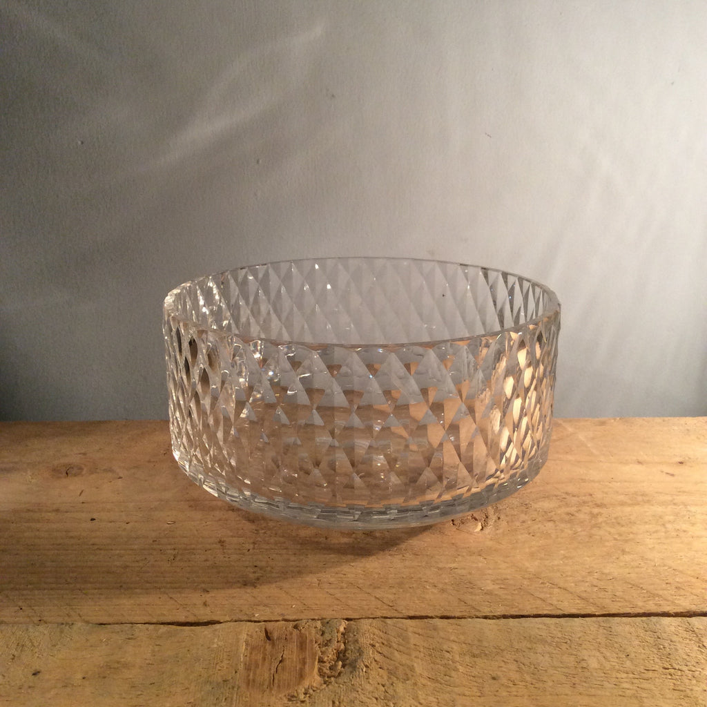 Vintage David Queensberry 'Diadem' Glass Bowl 1964