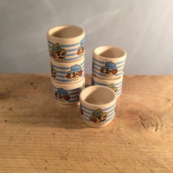 Vintage Hornsea Mackintosh's Toffee & Mallow Egg Cups