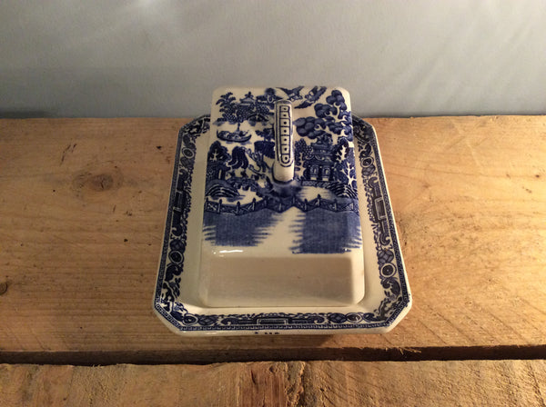 Vintage Cheese Dish - China