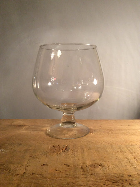 Vintage Oval Glass Vase