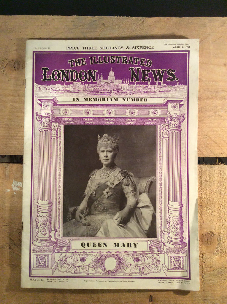 Vintage - The Illustrated London News 1953 - Magazine