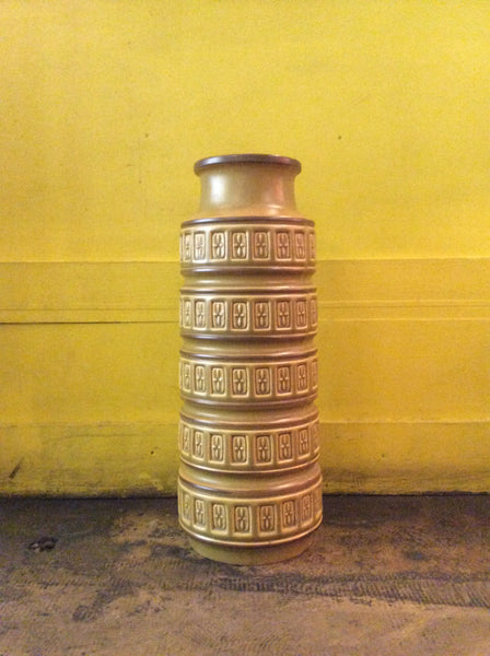 Vintage Green Ceramic Germany Vase