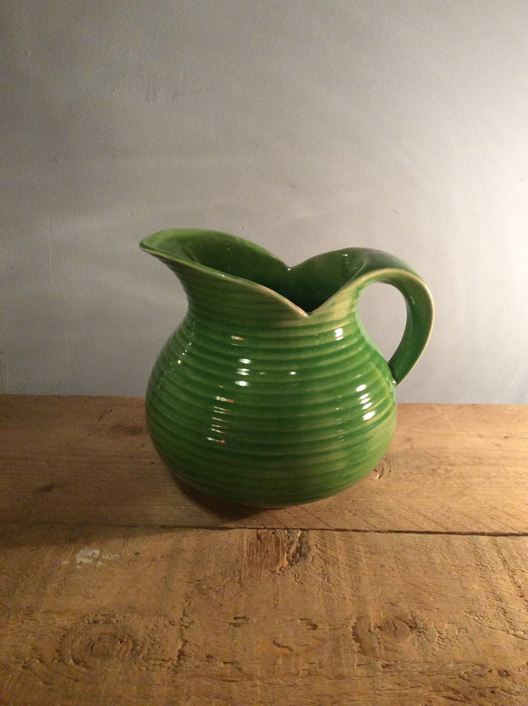 Vintage Green Water Jug