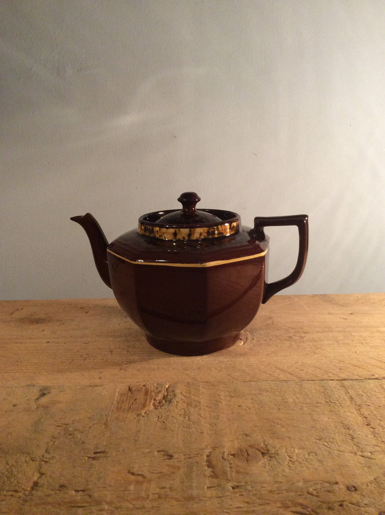 Vintage Brown Gibsons Teapot