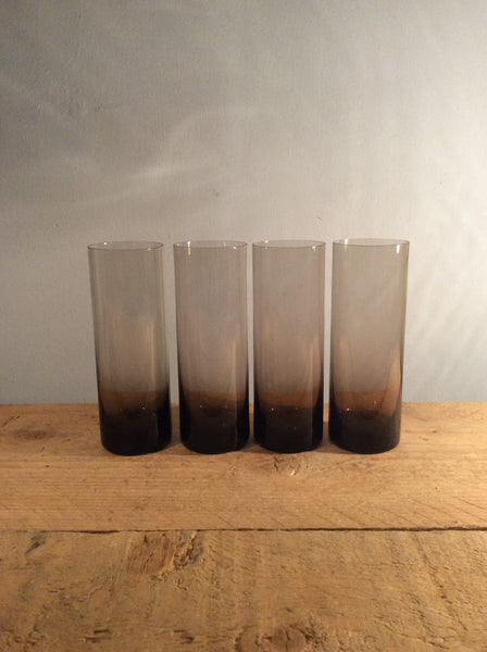 Set of 4 Purple Glasses
