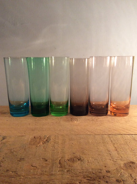 Set of 6 Colour Glasses