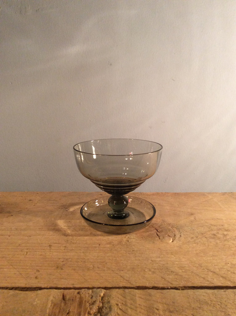 Vintage Grey Ice Cream Bowl