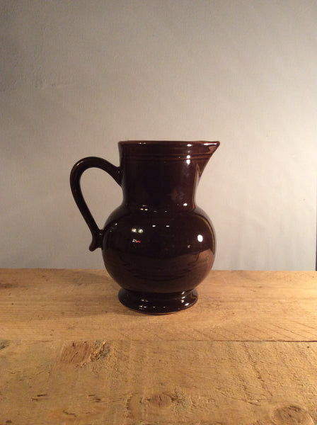 Vintage Ceramic Brown Jar