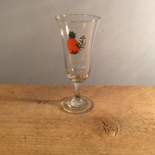 Vintage Britvil Fruit Glass - Pineapple