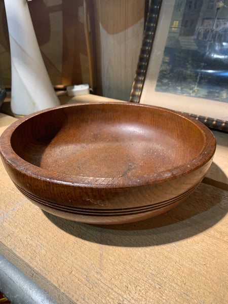Wooden turned bowl