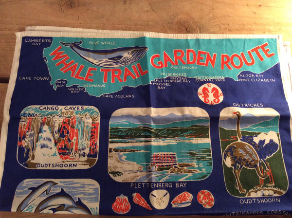 Vintage tea towel