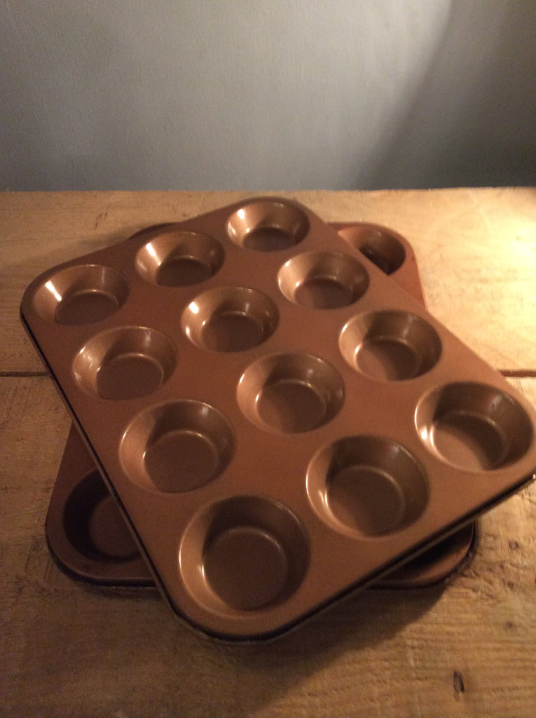 Pair of tart baking trays