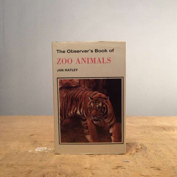 Vintage Book - The Observers Book of Zoo Animals