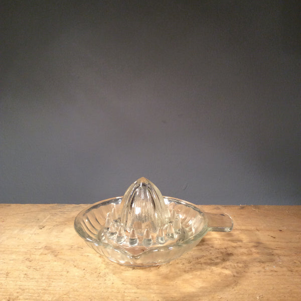 Vintage Glass - Lemon Juicer