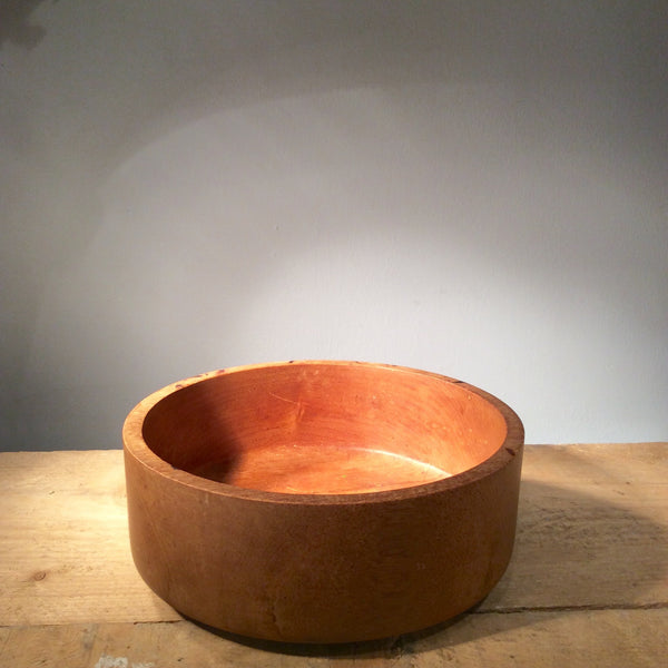 Vintage Wooden Salad Bowl