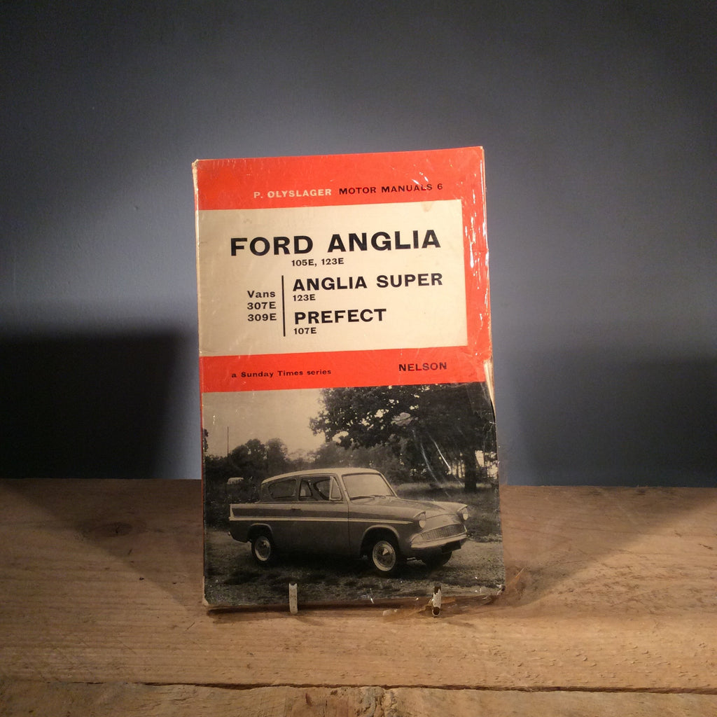 Vintage Ford Anglia Manual