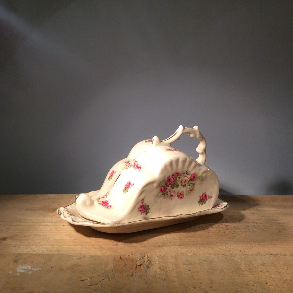 Vintage Ceramic Cheese Dish