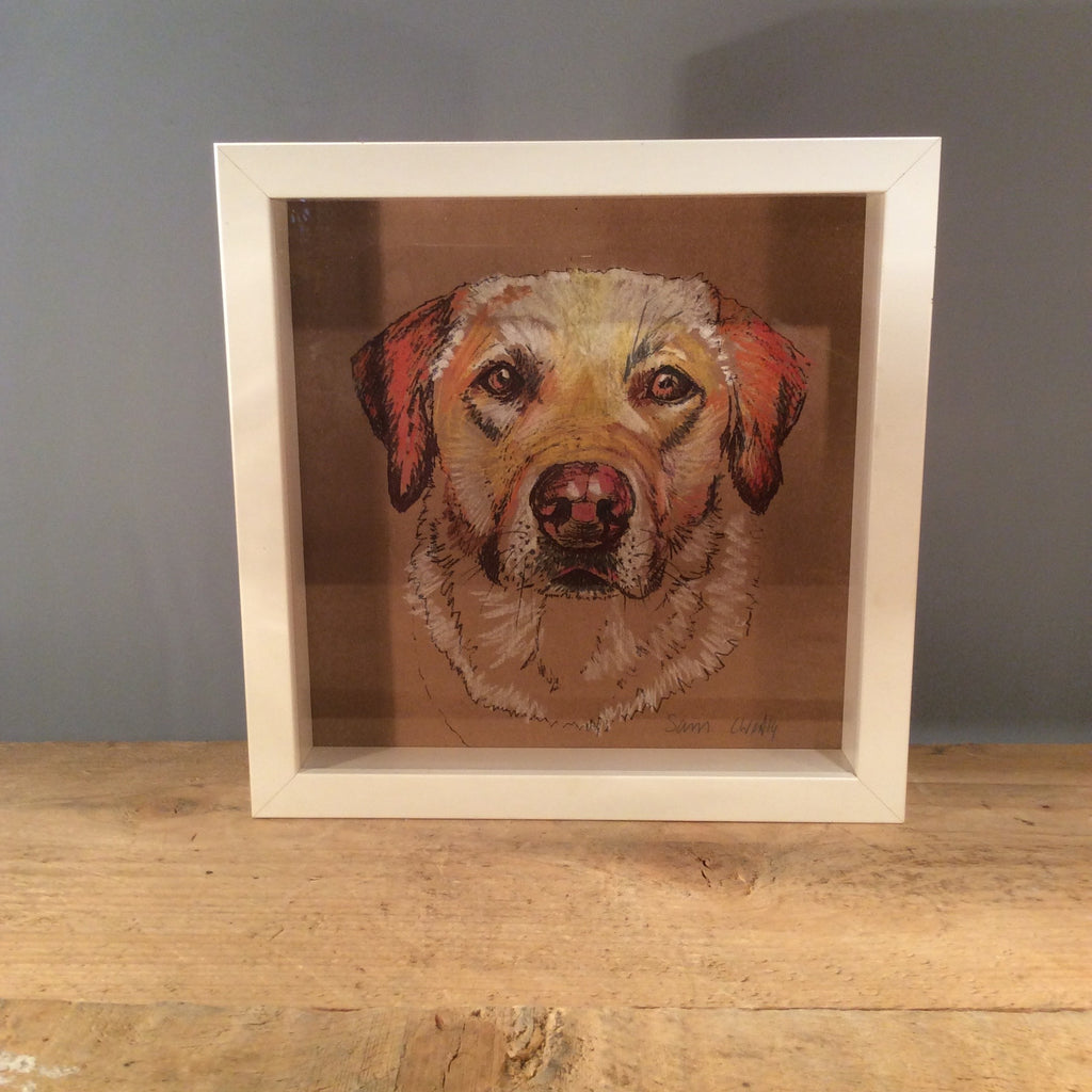 Original Louise West Dog Drawing 02